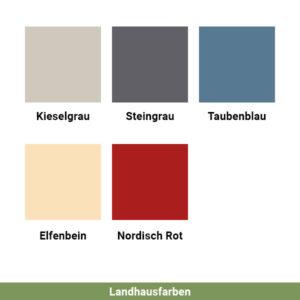 Landhausfarben